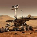 Atlas-V rocket with Mars Rover