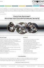 Executive Assistant/Assistenz der Geschäftsführung (m/w/d)