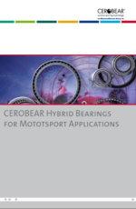 CEROBEAR Hybrid Bearings for Motorsport Applications