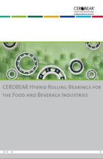 CEROBEAR Hybrid Rolling Bearings for the Food and Beverage Industries