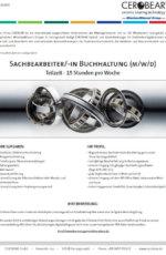Sachbearbeiter/-in Buchhaltung (m/w/d)