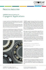 CEROBEAR Rolling Bearing Solutions for Cryogenic Applications
