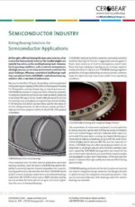 CEROBEAR Rolling Bearing Solutions for Semiconductor Applications