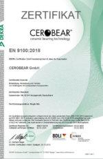 Qualitätsmanagementsystem für Luft- und Raumfahrt nach EN 9100